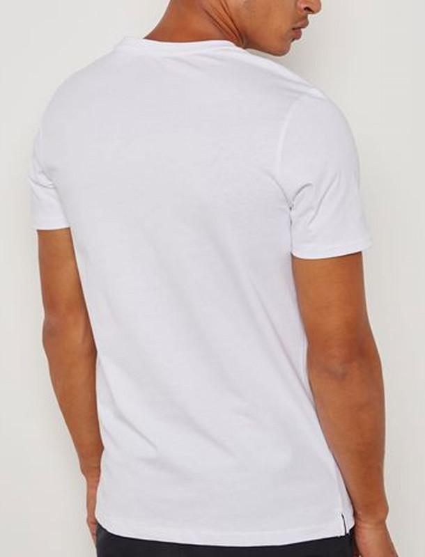 تی شرت نخی یقه گرد مردانه - جک اند جونز