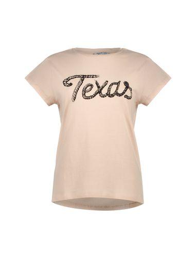 تی شرت نخی یقه گرد زنانه - مانگو
