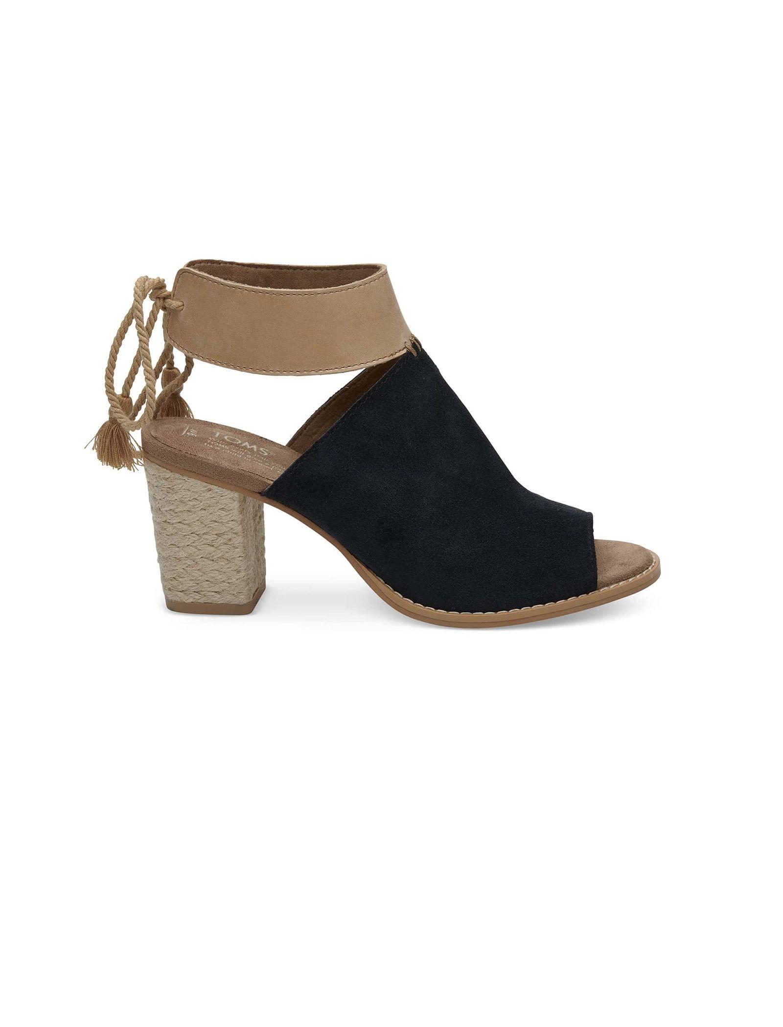 کفش پاشنه بلند چرم زنانه Seville - تامز - مشکي - 1