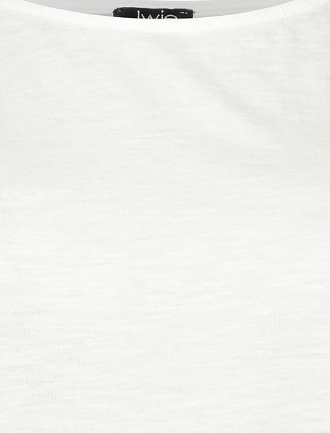 تاپ نخی یقه گرد زنانه - یوپیم - سفيد - 5