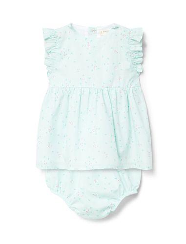 پیراهن نخی بدون آستین نوزادی دخترانه - مانگو