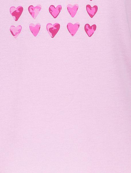 تی شرت و شلوار ویسکوز زنانه - صورتي - 8
