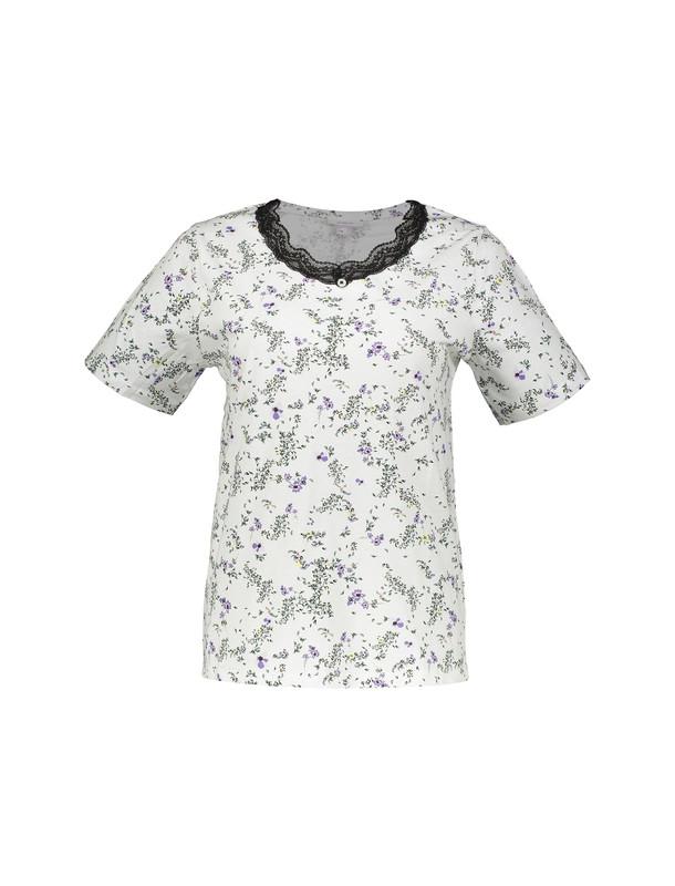 تی شرت و شلوار نخی زنانه
