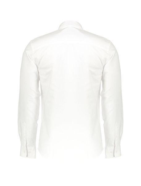 پیراهن نخی آستین بلند مردانه Jay 2.0 - سفيد - 2