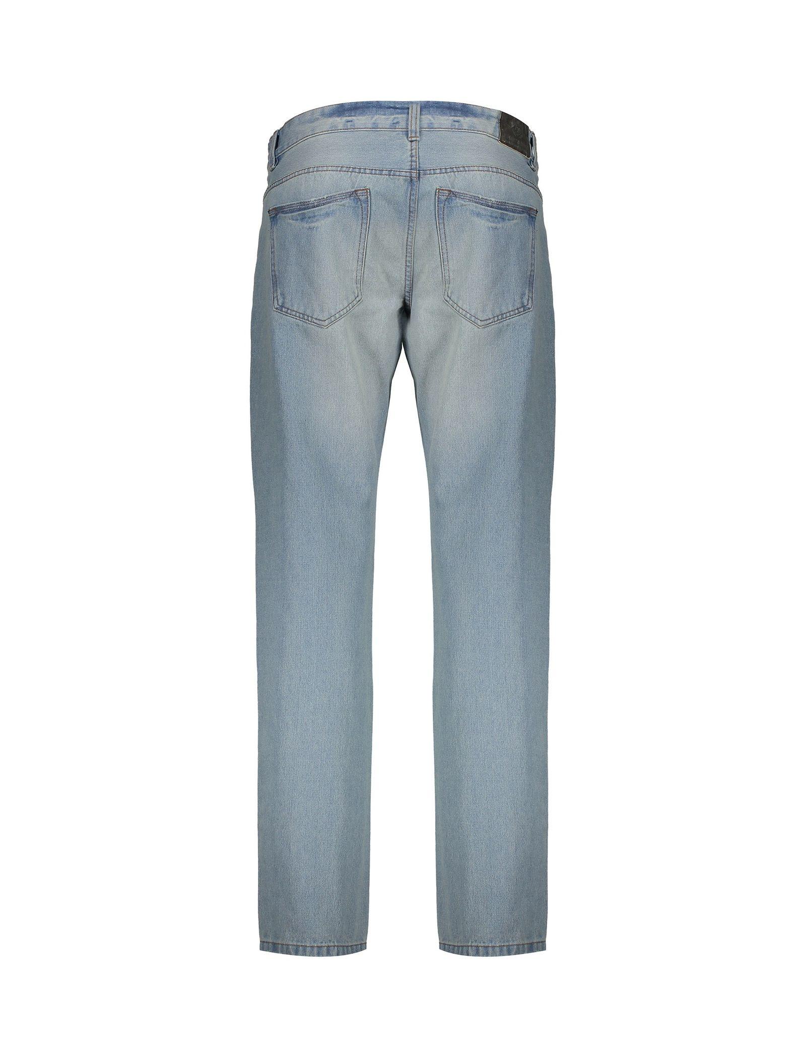 شلوار جین راسته مردانه - یوپیم - آبي روشن  - 2