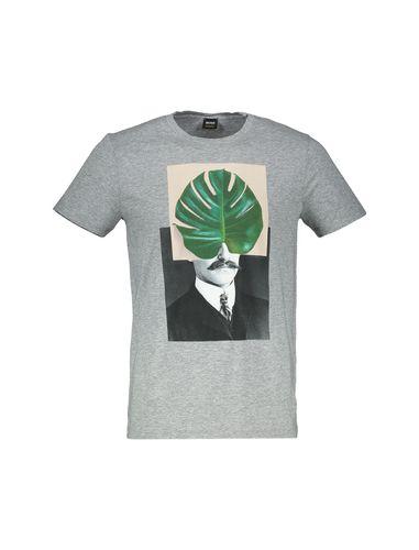 تی شرت نخی یقه گرد مردانه Timen 3