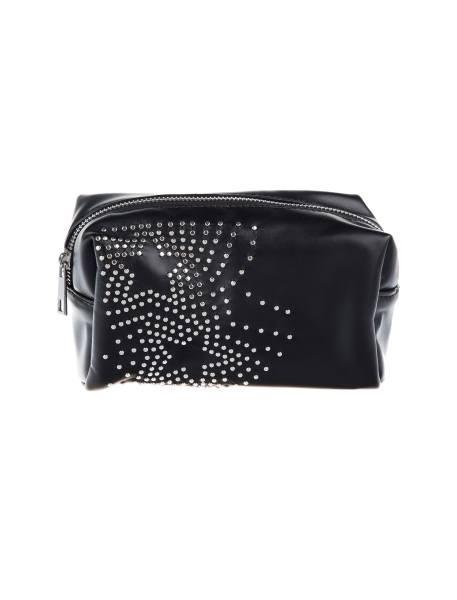 کیف لوازم آرایش زنانه - مشکي - 1