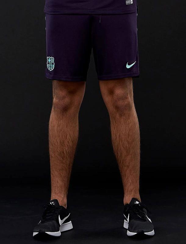 شلوارک ورزشی ساده مردانه FC Barcelona Squad - نایکی