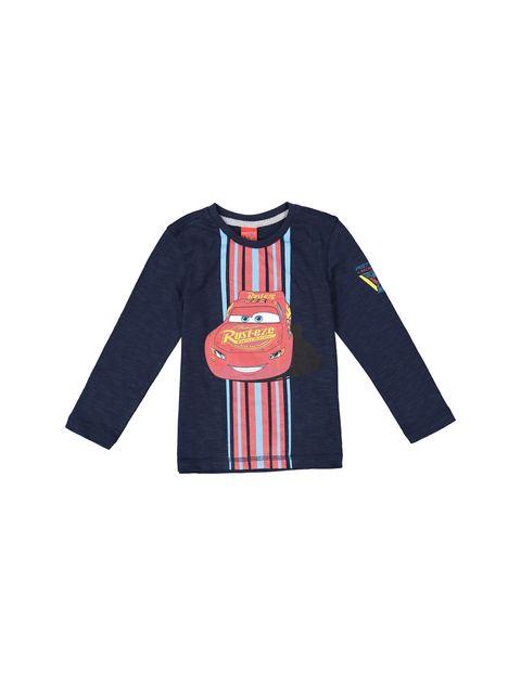 تی شرت و شلوار نخی پسرانه - سرمه اي/طوسي - 2