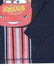 تی شرت و شلوار نخی پسرانه - سرمه اي/طوسي - 4