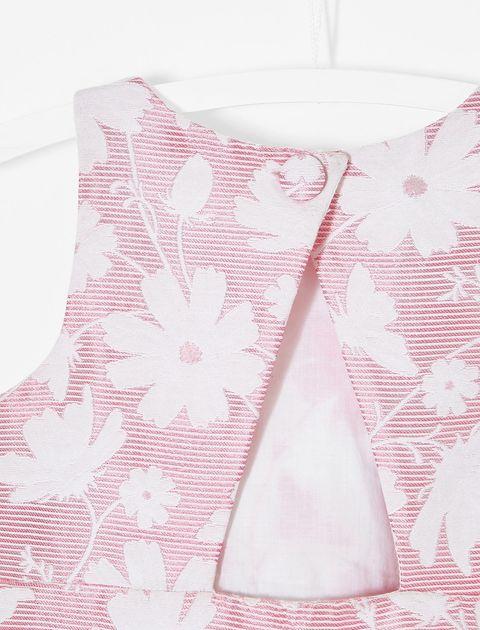 پیراهن روزمره دخترانه Lamiko - جاکادی - صورتي - 4
