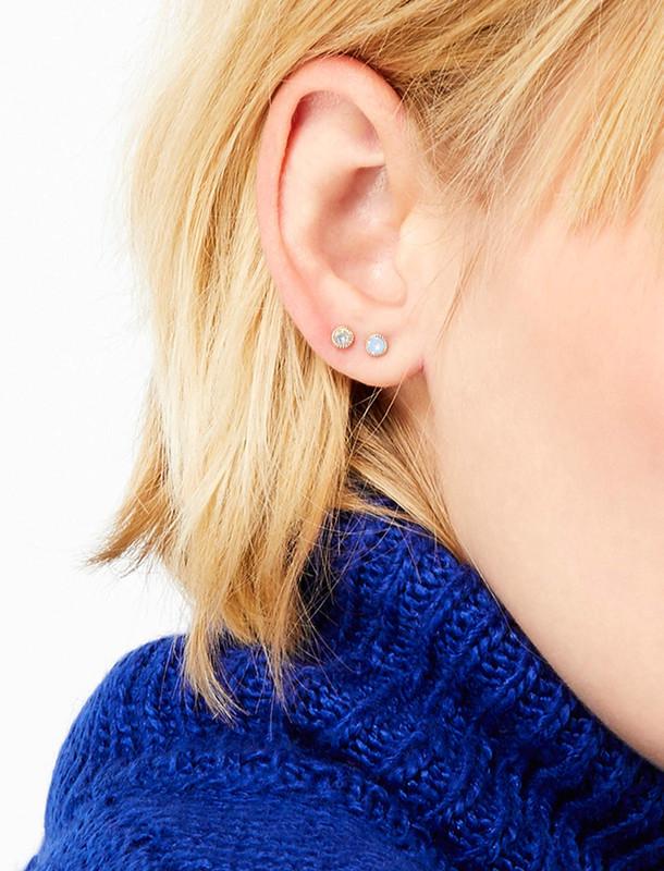 گوشواره میخی زنانه بسته ی شش عددی - اکسسوریز