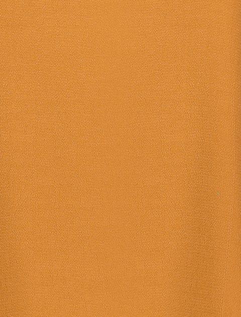 بلوز ویسکوز آستین بلند زنانه - نارنجي - 6