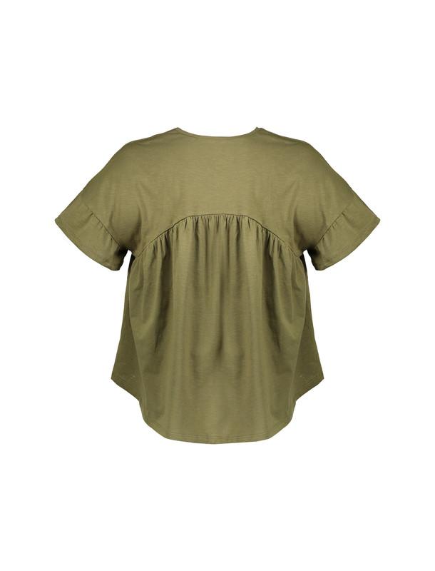 تی شرت نخی یقه هفت زنانه - کوتون