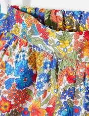 شلوارک نخی طرح دار دخترانه Larie - چند رنگ - 3