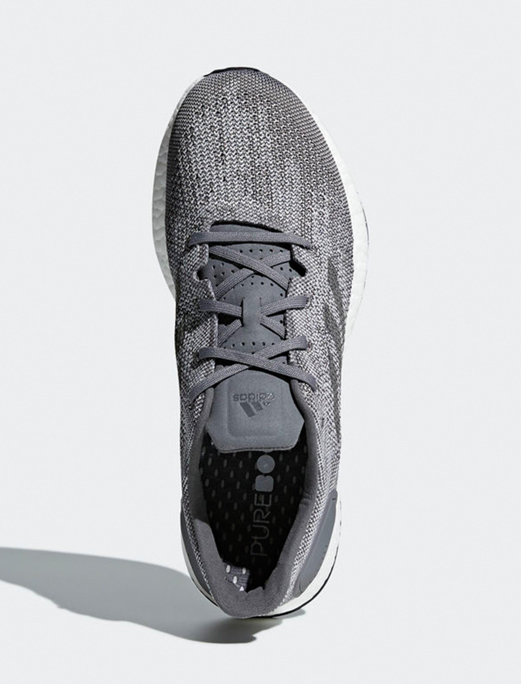 کفش مخصوص دویدن مردانه آدیداس مدل Pureboost DPR - طوسي - 3