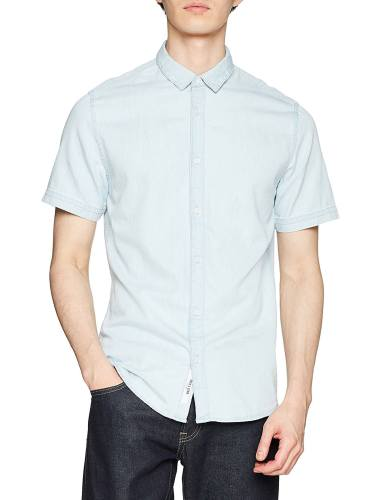 پیراهن نخی آستین کوتاه مردانه - اونلی اند سانز