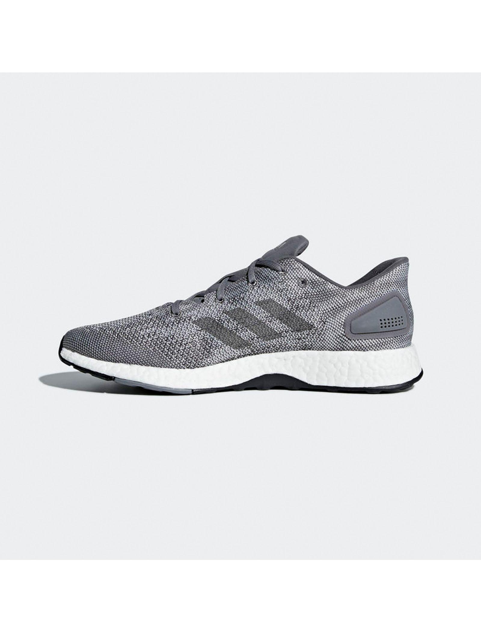 کفش مخصوص دویدن مردانه آدیداس مدل Pureboost DPR - طوسي - 4