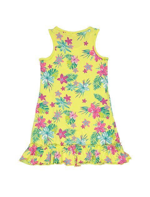 پیراهن نخی دخترانه - بلوکیدز - زرد روشن - 2