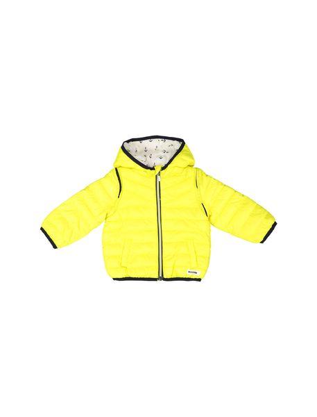 کاپشن نوزادی پسرانه - زرد - 1