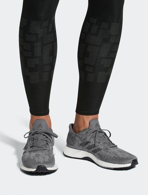 کفش مخصوص دویدن مردانه آدیداس مدل Pureboost DPR - طوسي - 5