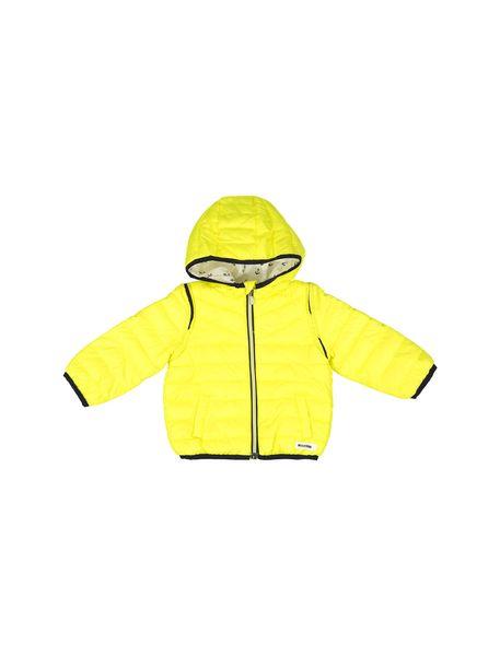 کاپشن نوزادی پسرانه - زرد - 2
