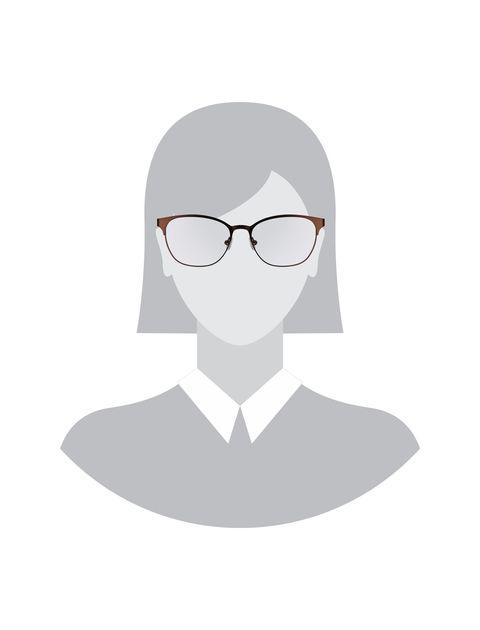 عینک طبی ویفرر زنانه - قهوه اي - 5