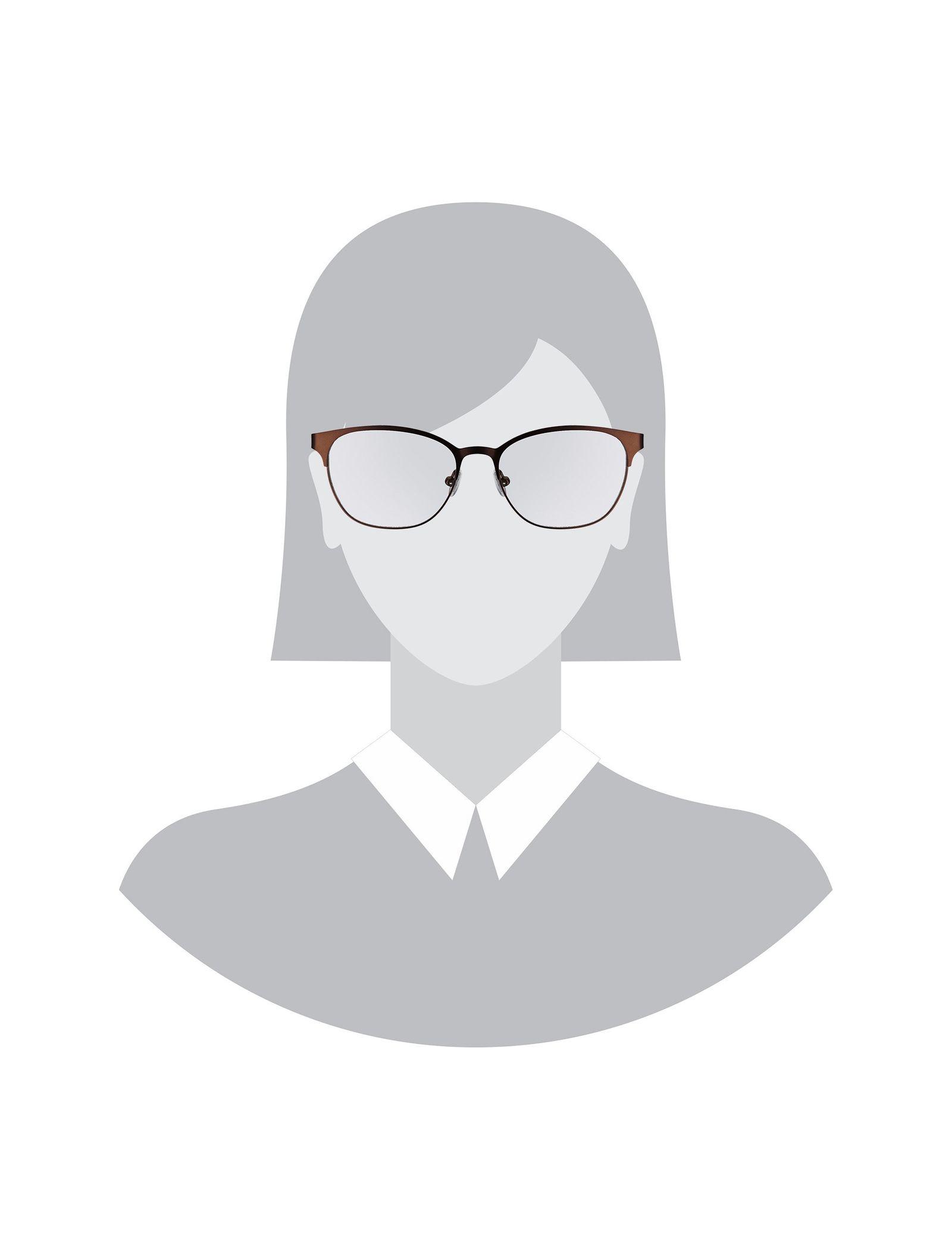 عینک طبی ویفرر زنانه - پپه جینز - قهوه اي - 5