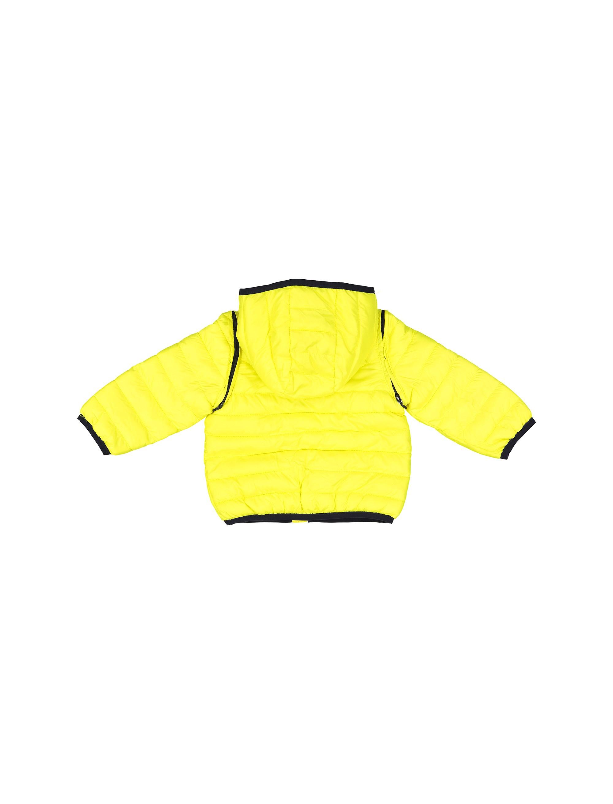 کاپشن نوزادی پسرانه - زرد - 3