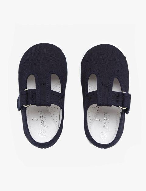 کفش چسبی دخترانه Elipse - جاکادی - سرمه اي - 2
