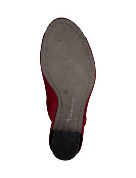 کفش پاشنه بلند زنانه - قرمز - 3
