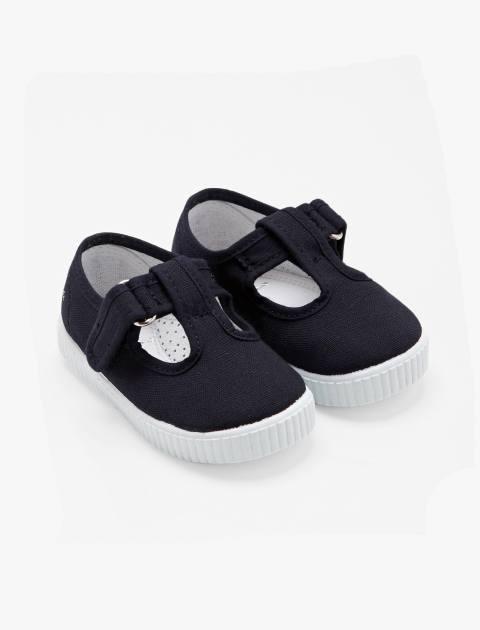 کفش چسبی دخترانه Elipse - جاکادی - سرمه اي - 4