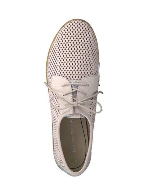 کفش تخت چرم زنانه Eulalia - صورتي - 2