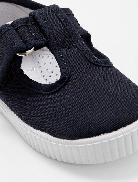 کفش چسبی دخترانه Elipse - جاکادی - سرمه اي - 5