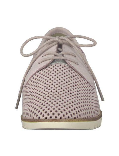 کفش تخت چرم زنانه Eulalia - صورتي - 4