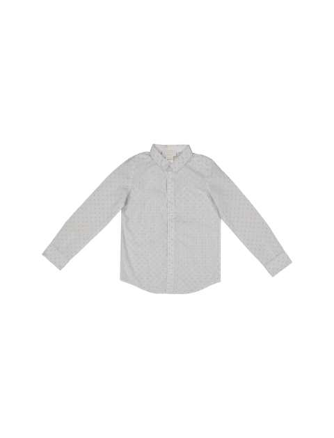 پیراهن نخی آستین بلند پسرانه - جاکادی