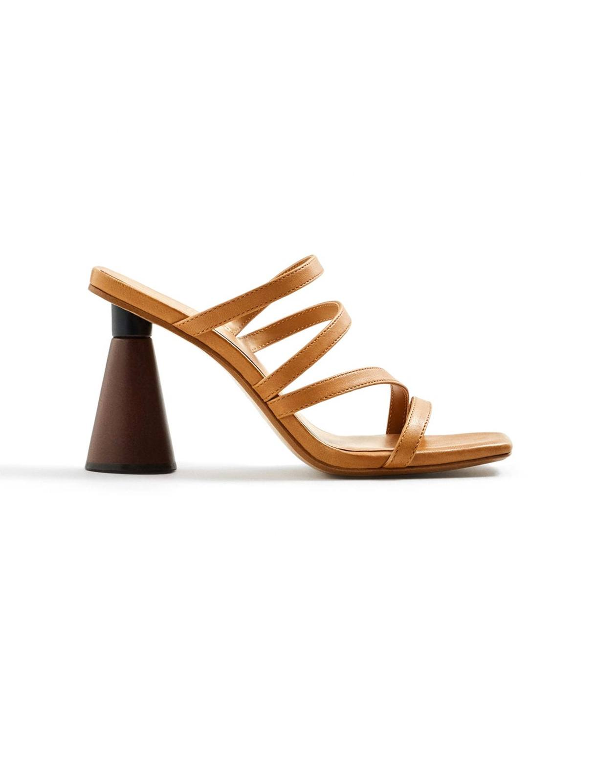 کفش چرم پاشنه بلند زنانه – مانگو  Women Leather High Heel Shoes – Mango