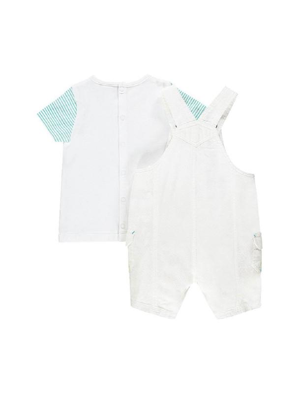 سرهمی و تی شرت نخی نوزادی پسرانه - ارکسترا
