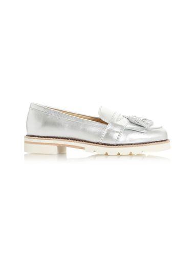 کفش چرم تخت زنانه Gennaa - دون لندن
