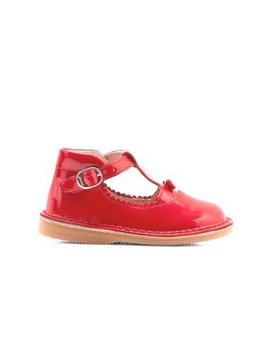 کفش چرم نوزادی دخترانه Souris - جاکادی