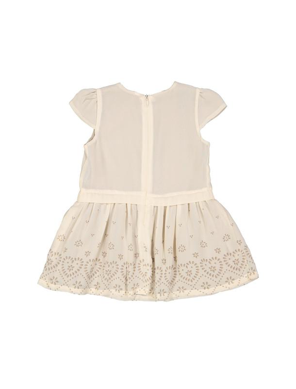 پیراهن آستین کوتاه نوزادی دخترانه
