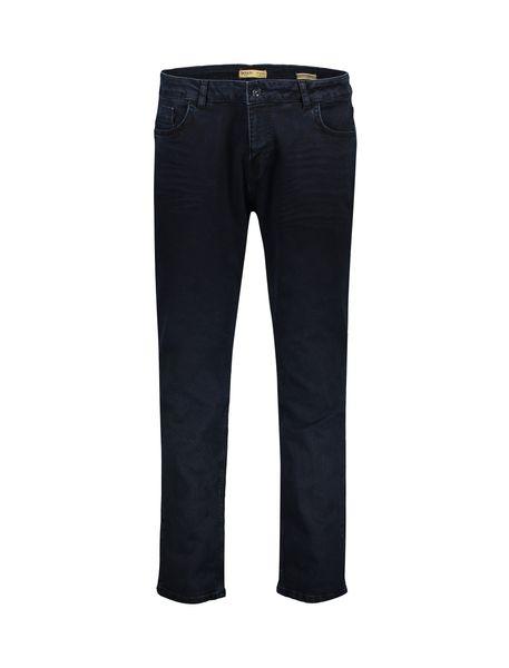 شلوار جین راسته مردانه - آبي تيره - 2