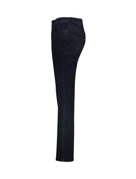 شلوار جین راسته مردانه - آبي تيره - 3