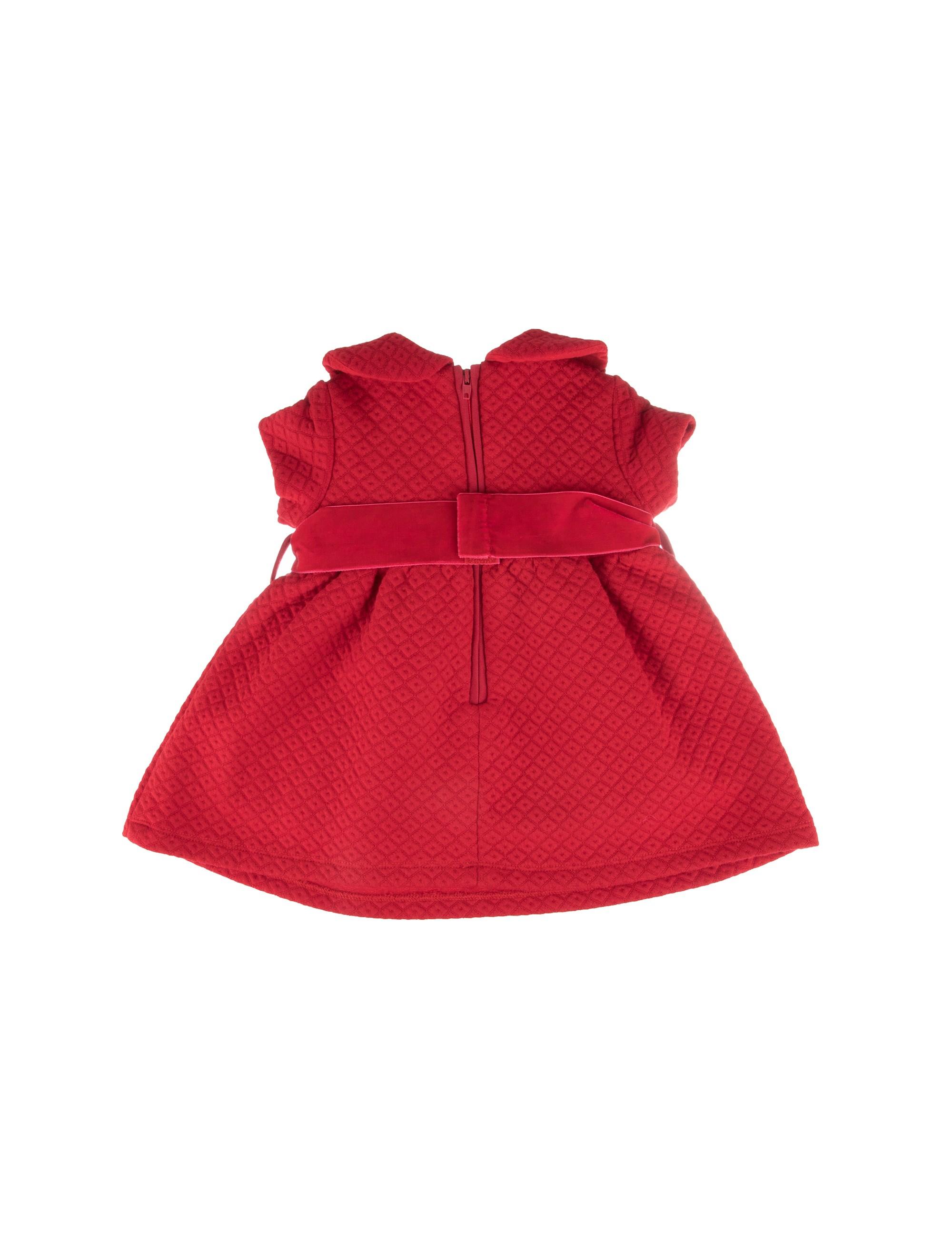 پیراهن آستین کوتاه نوزادی دخترانه - ایدکس