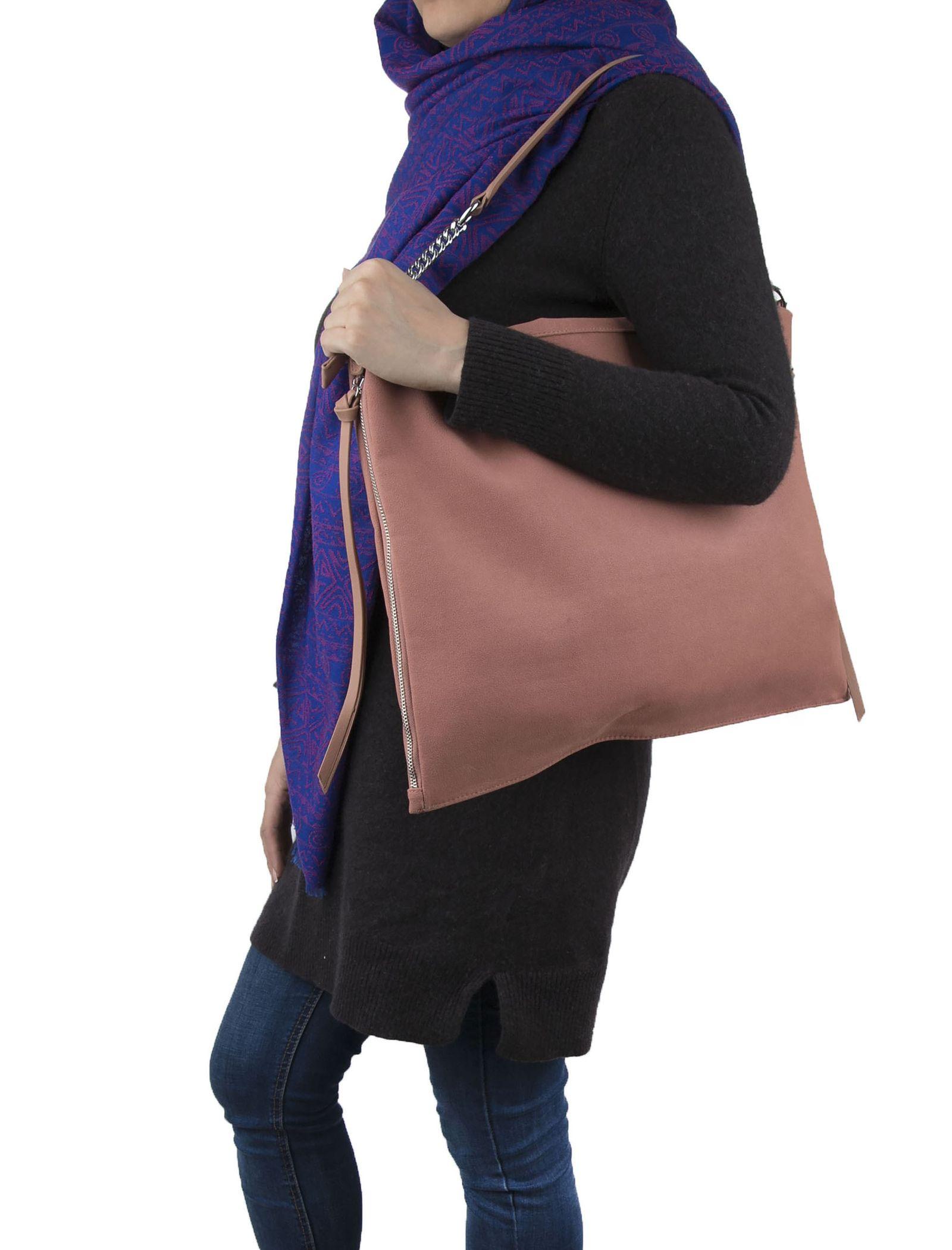 کیف دستی روزمره زنانه - شانتال - صورتي - 4