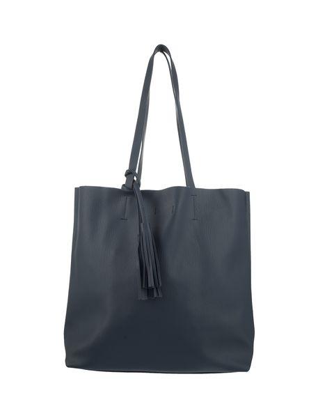 کیف دوشی زنانه - سرمه اي - 1