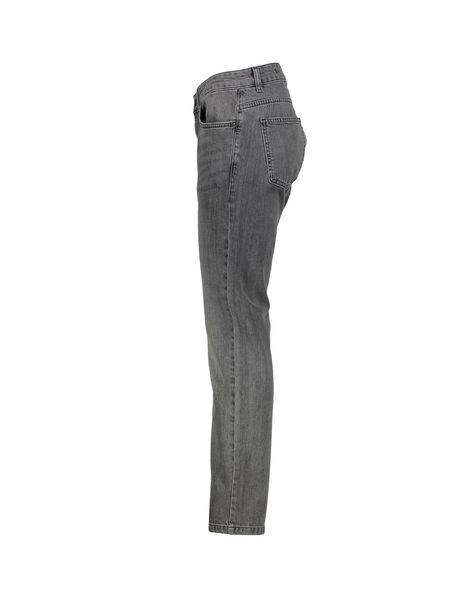 شلوار جین جذب مردانه - طوسي - 3