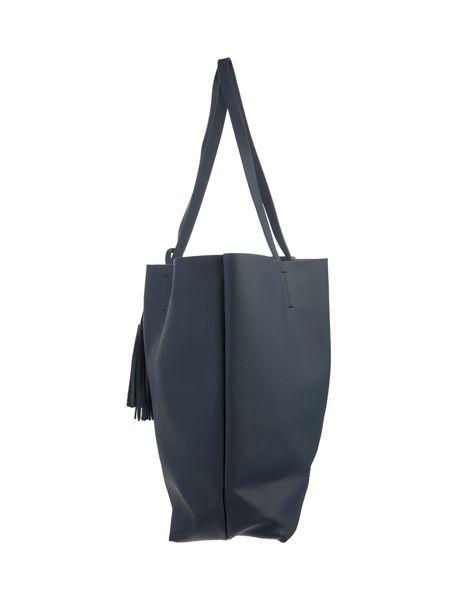 کیف دوشی زنانه - سرمه اي - 4