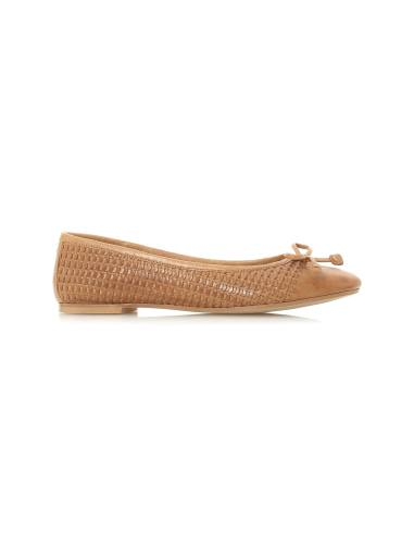 کفش چرم تخت زنانه Hennah
