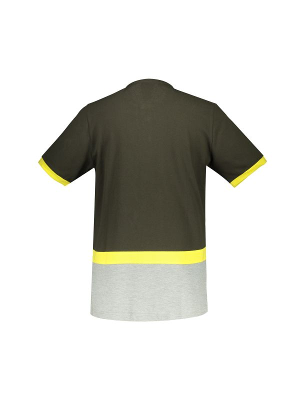 تی شرت نخی یقه گرد مردانه - جامه پوش آرا